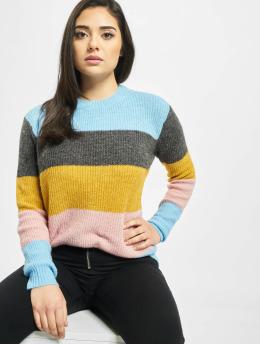 Pieces Swetry pcHelena Knit niebieski