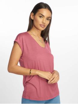 Pieces T-paidat pcBillo Solid purpuranpunainen