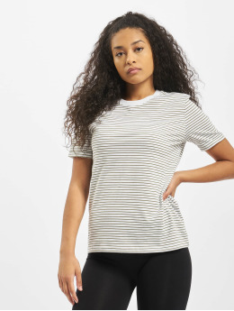 Pieces T-Shirty pcRia Fold Up  bialy