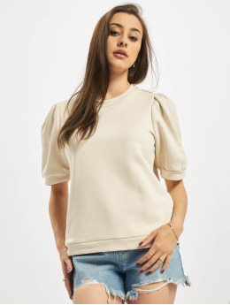 Pieces Top pcMesa 2/4 Sweat grau