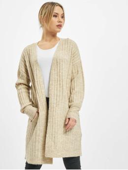 Pieces vest pcNew Sanni Noos Knit  beige
