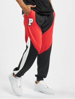 Pink Dolphin Bold Track Pants Black/Red/White