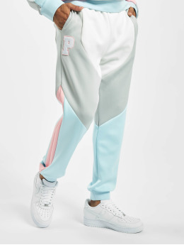 Pink Dolphin Jogginghose Bold weiß