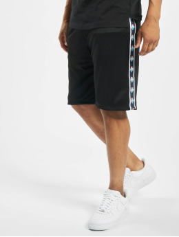 Pink Dolphin Wave Sport Shorts Black