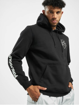 Pink Dolphin Sweat capuche Colorless Logo noir