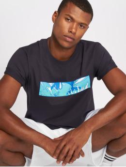 Pink Dolphin T-Shirt Letterbox blau