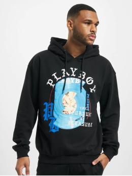 Playboy x DEF Bluzy z kapturem Side A czarny