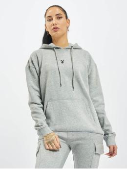 Playboy x DEF Hoodie Small Logo grey