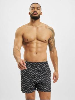 Playboy x DEF Kúpacie šortky Swim èierna