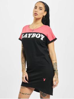 Playboy x DEF Sukienki T-Shirt czarny