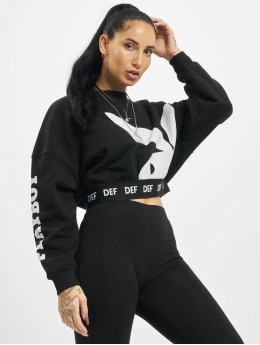 Playboy x DEF Swetry Crewneck  czarny