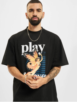Playboy x DEF t-shirt Single  zwart