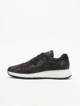 Prada Sneakers Nylon Camoufla  moro