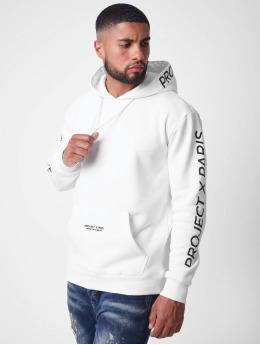Project X Paris Felpa con cappuccio Basic  bianco