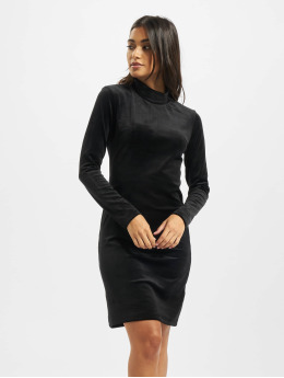 Project X Paris Kleid Long sleeve turtleneck  schwarz