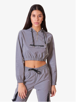 Project X Paris Lightweight Jacket Short  grey