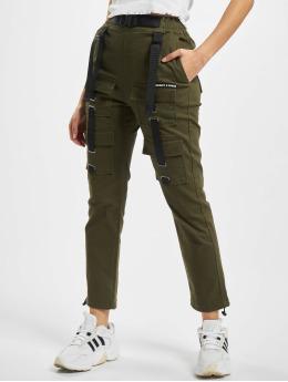 Project X Paris Pantalon cargo Pockets and Strap detail  kaki