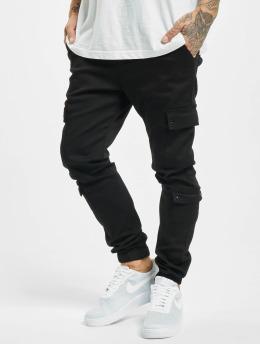 Project X Paris Pantalon cargo Multi-Pocket Elastic noir