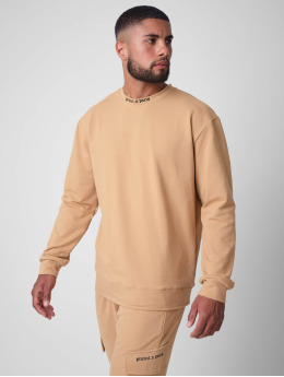 Project X Paris Pullover othic print Crew neck  brown
