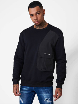 Project X Paris Pullover Yoke and Pocket  schwarz