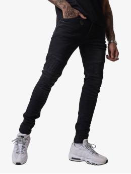Project X Paris Skinny Jeans Biker  čern