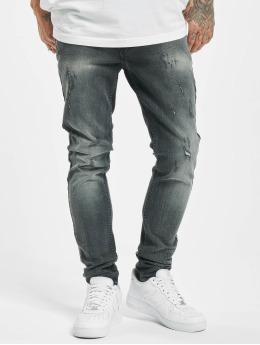 Project X Paris Skinny jeans Skinny Distressed svart