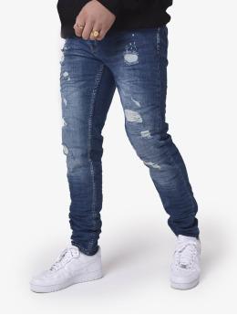 Project X Paris Slim Fit Jeans Slim  blå
