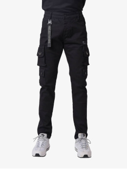 Project X Paris Spodnie Chino/Cargo Basic  czarny
