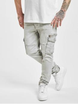 Project X Paris Spodnie Chino/Cargo Patch szary