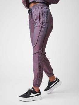 Project X Paris Spodnie do joggingu Iridescent  fioletowy