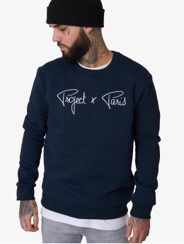 Project X Paris | Chest Logo bleu Homme Sweat & Pull