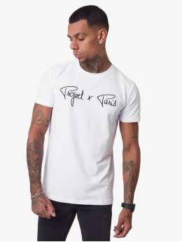 Project X Paris T-Shirt Logo blanc