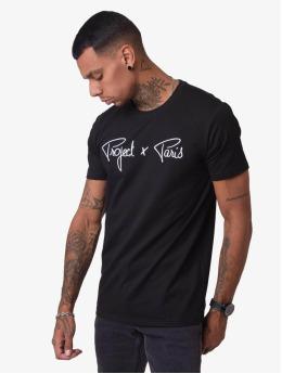 Project X Paris t-shirt Logo  zwart