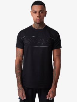 Project X Paris t-shirt Reflect Piping zwart