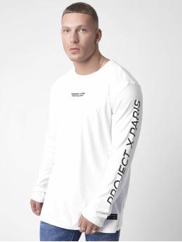 Project X Paris Tričká dlhý rukáv Basic  biela