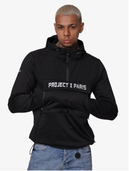 Project X Paris Übergangsjacke Overhead Two Tone schwarz