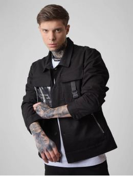 Project X Paris Übergangsjacke Transparent Pocket schwarz