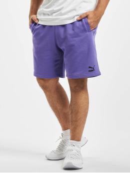 Puma Šortky Logo fialová