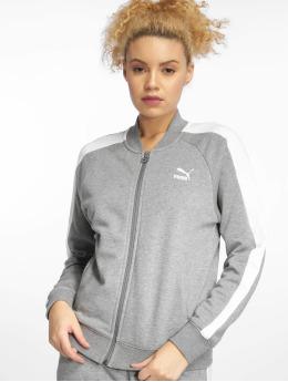 Puma Демисезонная куртка Classics T7 серый