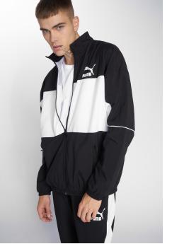 Puma Демисезонная куртка Retro Woven черный