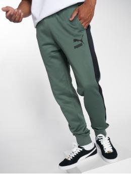 Puma Спортивные брюки Classics T7 оливковый