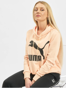 Puma Толстовка Logo  оранжевый