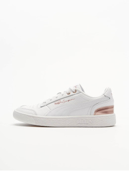 Puma Baskets Ralph Sampson Low Metal  blanc