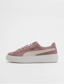 Puma Baskets Suede pourpre