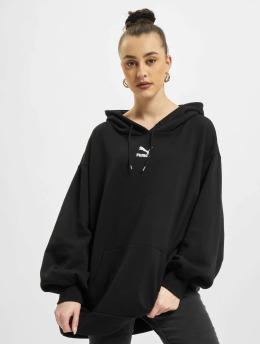 Puma Bluzy z kapturem Oversized czarny