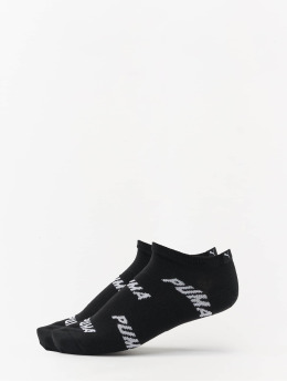 Puma Calcetines All Over Logo 2 Pack negro
