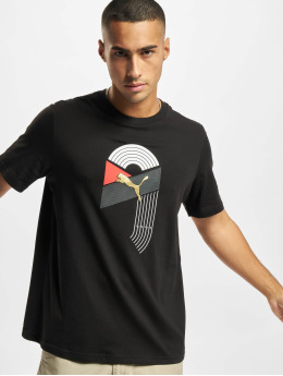 Puma Camiseta AS Graphic negro