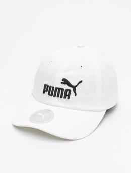 Puma Casquette Snapback & Strapback Essential  blanc