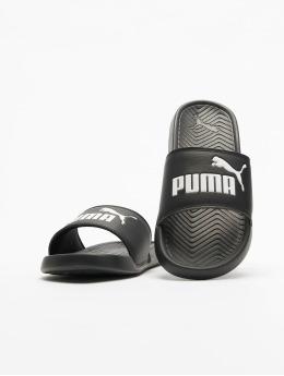 Puma Chanclas / Sandalias Popcat  negro