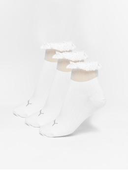 Puma Chaussettes Selena Gomez Ruffle Short blanc